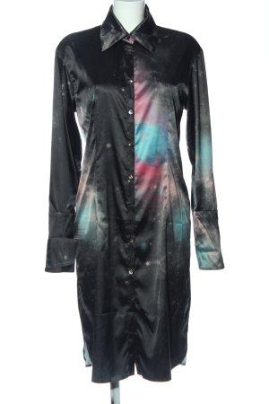 Anja Gockel Robe chemise gradient de couleur style mouillé