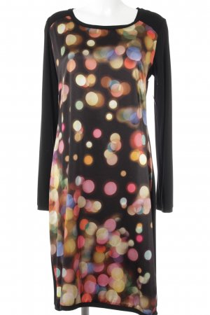 Anja Gockel Robe à manches longues multicolore