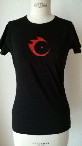 Anja Gockel Shirt black-red