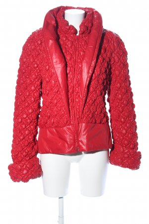 Anja Gockel Quilted Jacket red extravagant style