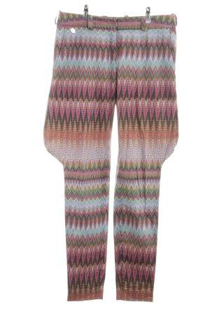 Anja Gockel Pantalón tipo suéter estampado con diseño abstracto look casual