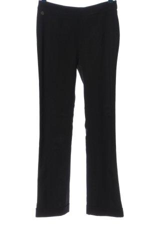 Anja Gockel Pantalon en jersey noir style décontracté
