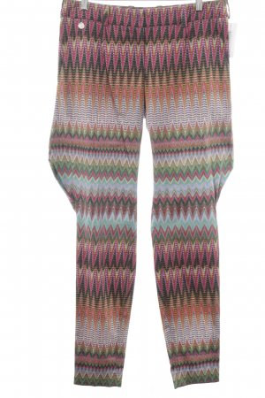 Anja Gockel Jersey Pants abstract pattern casual look