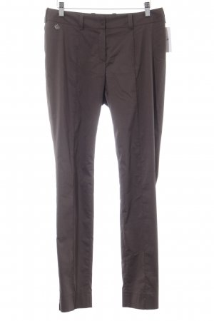 Anja Gockel Jersey Pants grey brown casual look