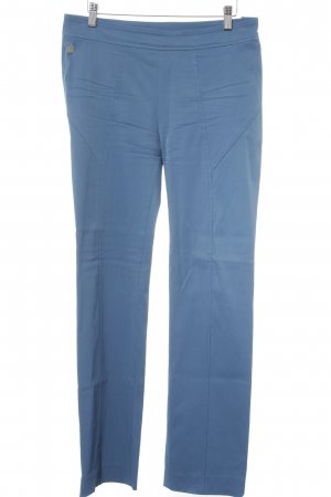 Anja Gockel Stretch Trousers cornflower blue casual look
