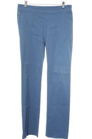 Anja Gockel Pantalon strech bleuet style décontracté
