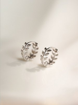 ANKE Accessoires Art Silver Earrings silver-colored