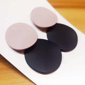 ANKE Accessoires Art Ear stud pink-black polyacrylic