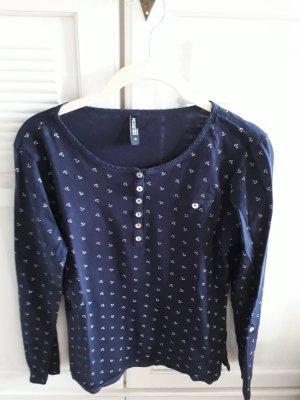 Anker Shirt mit Knopfleiste