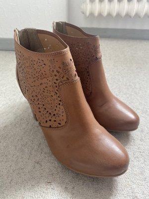 Anna Field Low boot cognac