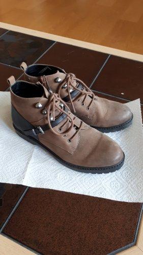 noiz Low boot noir-brun