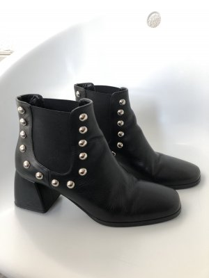 Carrie Latt Ankle Boots black leather