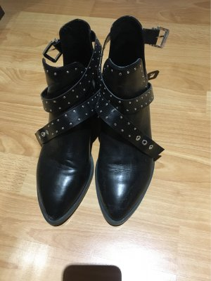 Pull & Bear Ankle Boots black