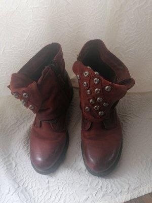ankle boots aus Leder Arizona Gr 38