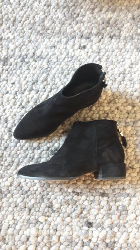 Ankle Boots aus Velourleder