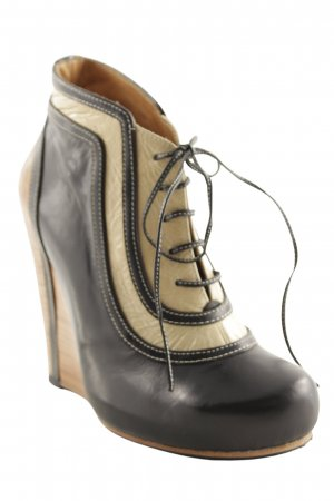 Ankle Boots Colourblocking Brit-Look