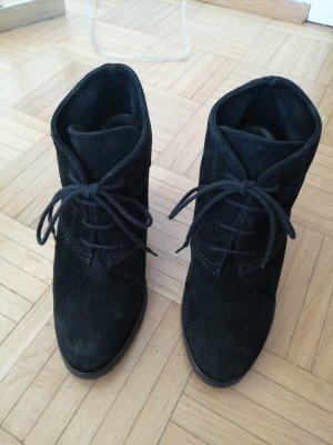 Mango Low boot noir