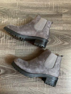 Ankle Boots grau  neu Stiefel