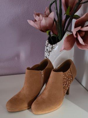 Ankle Boots - High Heels - beige - Größe 40 - neu