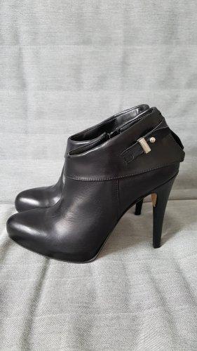 Ankle Boots High Heels Stiefellette Mai Piu Senza schwarz Größe 39