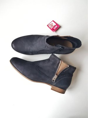 Ankle Boots in dunkelblau