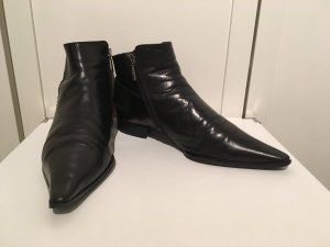 Claudia Obert Ankle Boots black leather