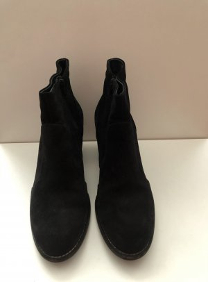 Ankle Boots mit kleinem Blockabsatz