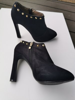 Ankle Boots mit Plateau