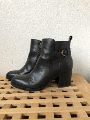 Ralph Lauren Stiefeletten Ankle Boots Western 41 schwarz Herbst Winter neu