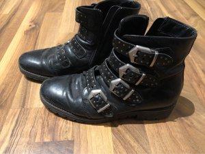 Andrea Bianchini Low boot noir-gris