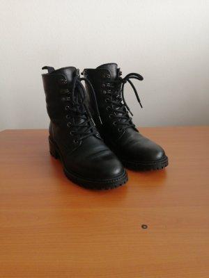 5th Avenue Low boot noir cuir