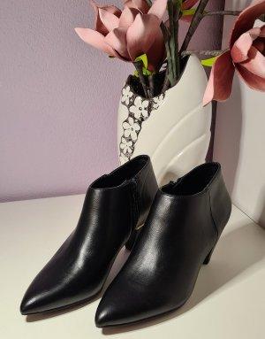 Ankle Boots - schwarz/gold - Größe 38 - neu - Graceland