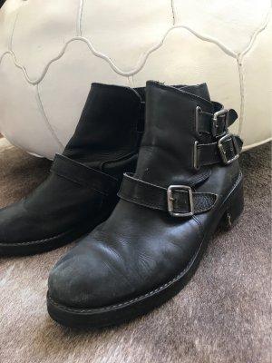 Ankle boots schwarz Topshop