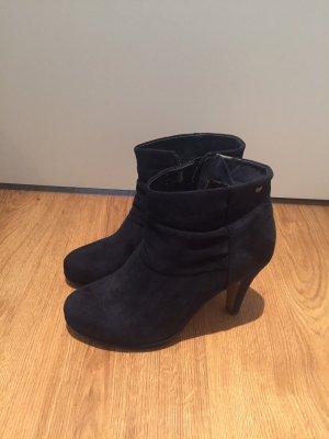 Ankle Boots Stiefeletten dunkelblau