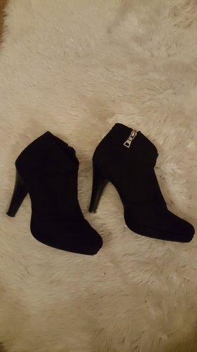 Ankle Boots Velourslederoptik