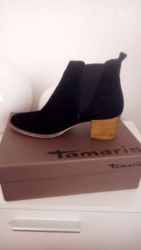 Ankle Boots von Tamaris, echtes Leder