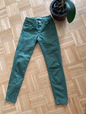 Ankle Free/7/8 - Stoff Skinny - Green - Größe 34 XS - Zara