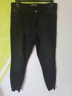 Ankle Jeans Stretch  Uselook schwarz Gr 44 46