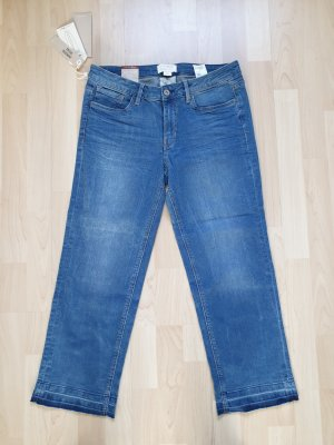 Tom Tailor Denim Jeans a 7/8 blu Cotone