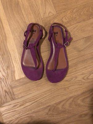 Ankle-Strap Zehentrenner -  Sandalen