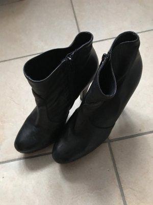 Donna Piu (Italien) Botas de tobillo negro