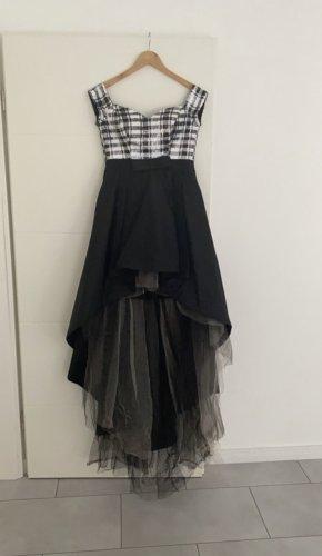 / Robe à corsage noir-blanc