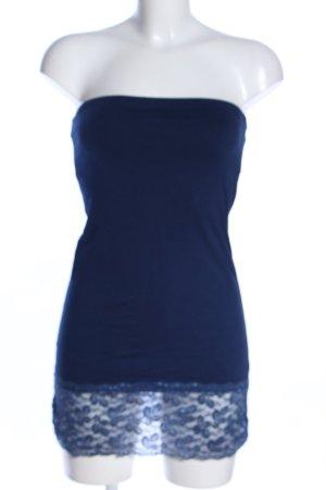 Bandeautop blau Casual-Look