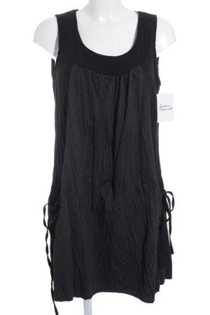 anmod Trägerkleid schwarz-weiß