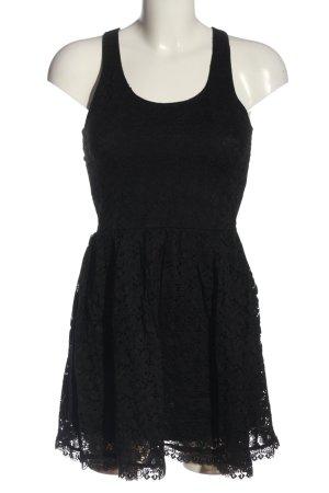 Ann Christine A-Linien Kleid schwarz Elegant