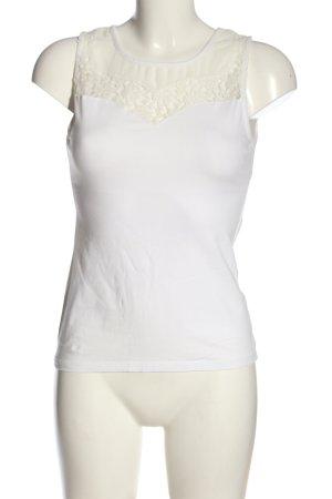 Ann Christine Sleeveless Blouse white-natural white casual look