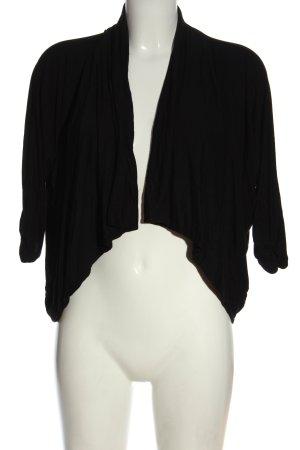 Ann Christine Cardigan black casual look
