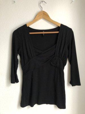 Ann Christine Lang shirt zwart