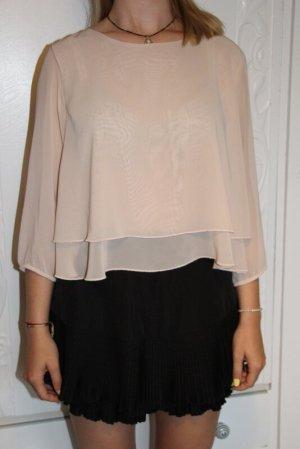 Ann Christine Blouse Shirt nude polyester