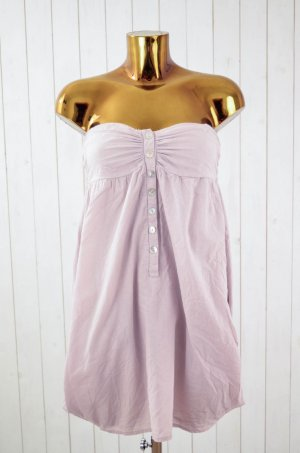 ANN CHRISTINE Kleid Bandeaukleid Hängerchen Sommer Baumwolle Rosa Gr. 34
